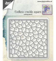 Joy! Crafts stanssisetti Endless Crackle Square