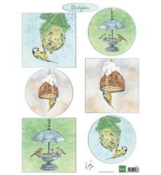 Marianne Design Tiny's Bird Feeding -korttikuvat