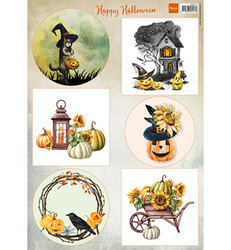 Marianne Design Happy Halloween -korttikuvat