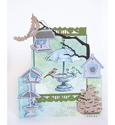 Marianne Design stanssisetti Tiny's peanut garland and branch