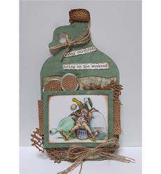 Dutch Doobadoo Card Bottle -sapluuna