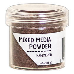Ranger Mixed Media Powder -kohojauhe, sävy Hammered