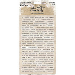 Tim Holtz Idea-ology Clipping -tarrat Christmas 2018