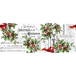 Tim Holtz Idea-Ology Collage paperipakkaus Holly