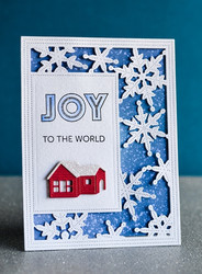 Poppystamps Winter Cabin -stanssi