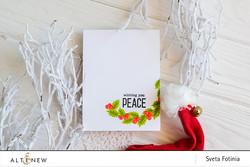 Altenew Peaceful Wreath -leimasinsetti