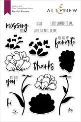 Altenew Playful Blooms -leimasinsetti