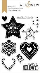 Altenew Peace Love Joy -leimasinsetti