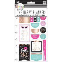 Mambi Happy Planner tarrat Boss Babe