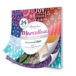 Hunkydory Marvellous Mirri paperipakkaus Seasonal Style