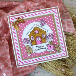 Hunkydory leimasinsetti Gingerbread Fun