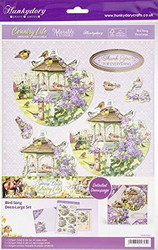 Hunkydory Country Life Decoupage -pakkaus, Bird Song