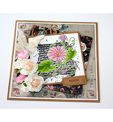 Joy! crafts Flower Script -leimasin