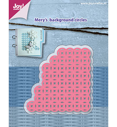 Joy! Crafts stanssi Mery Background Circles