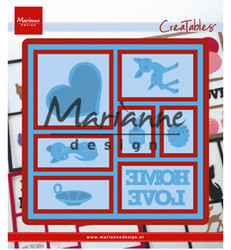 Marianne Design stanssisetti Layout
