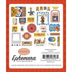 Carta Bella Circus Ephemera Icons -leikekuvat, 33 kpl