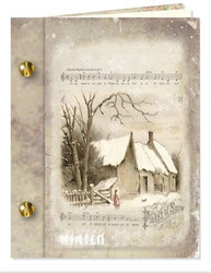 Reddy korttiaskartelupakkaus Book Cards Winter