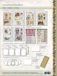 Reddy korttiaskartelupakkaus Nostalgic Christmas 2