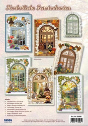 Reddy korttiaskartelupakkaus Autumn Window Cards