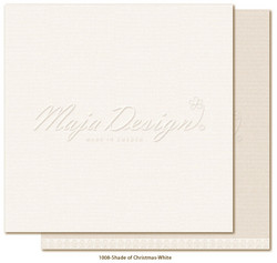 Maja Design Monochromes - Shades of Christmas skräppipaperi White