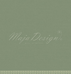 Maja Design Monochromes - Shades of Christmas skräppipaperi Mistletoe green