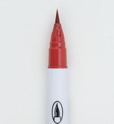 ZIG Clean Colors Real Brush -kynä, sävy carmine red