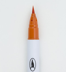 ZIG Clean Colors Real Brush -kynä, sävy scarlet red