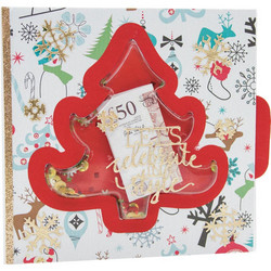 Nuvo Pure Sheen Sequins -paljetit, sävy Jingle Bells