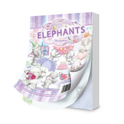 Hunkydory The Little Book of Elephants -korttikuvat