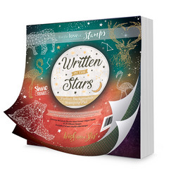 Hunkydory Perfect Background Stamping Pads -paperipakkaus Written In The Stars