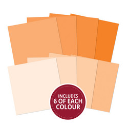 Hubkydory Colour Families paperipakkaus Orange