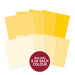Hubkydory Colour Families paperipakkaus Yellow