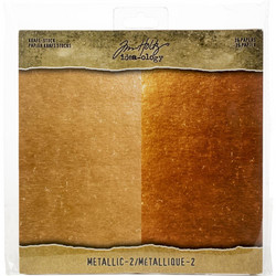 Tim Holtz Idea-Ology paperikko Kraft Metallic Rose Gold / Copper