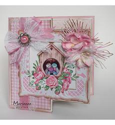 Marianne Design korttikuvat Birdhouses