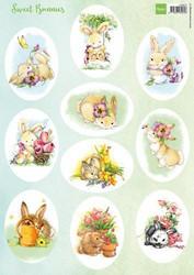Marianne Design korttikuvat Sweet Bunnies