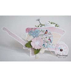 Marianne Design korttikuvat Romantic Dreams, pink