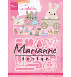 Marianne Design Eline's Baby Bunny -stanssisetti