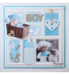 Marianne Design Baby Boy and Girl -stanssisetti
