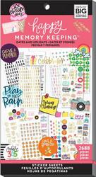 Mambi Happy Memory Keeping Value Pack -tarrapakkaus Dates & Holidays 2