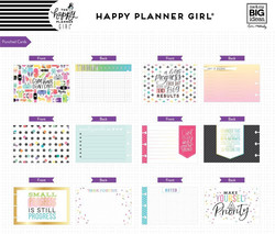 Mambi Happy Planner Note Cards/Sticky Note -pakkaus, Healty Hero
