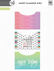 Mambi Happy Planner Adhesive Pocket -taskut, Healthy Hero
