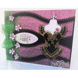 Heartfelt Creations Eyelet Border Basics -stanssisetti