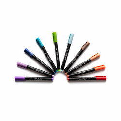 Kelly Creates Bullet Tip Pens kynäsetti Multicolor