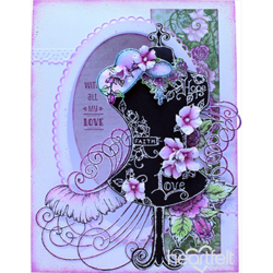 Heartfelt Creations 3D Petite Florals Shaping -muotit