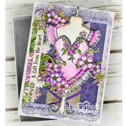 Heartfelt Creations Floral Fashionista -stanssisetti