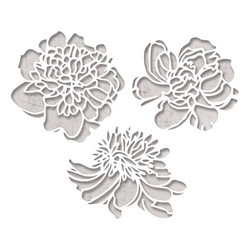 Sizzix Thinlits stanssisetti Cutout Blossoms by Tim Holtz