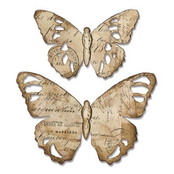 Sizzix Bigz stanssi Tattered Butterfly By Tim Holtz