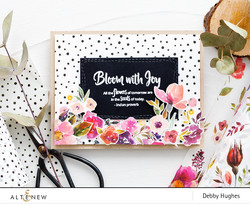 Altenew washiteippi Floral Flurries