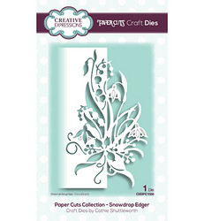 Creative Expressions stanssi Snowdrop Edger