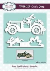 Creative Expressions Paper Cuts 3D stanssisetti Classic Car